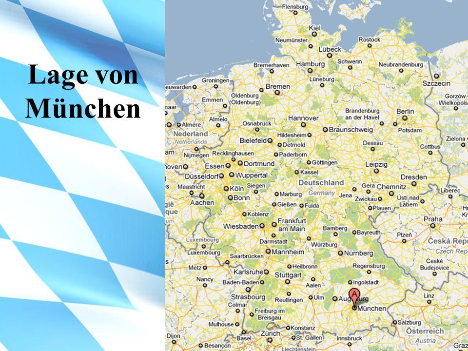 Lage von München