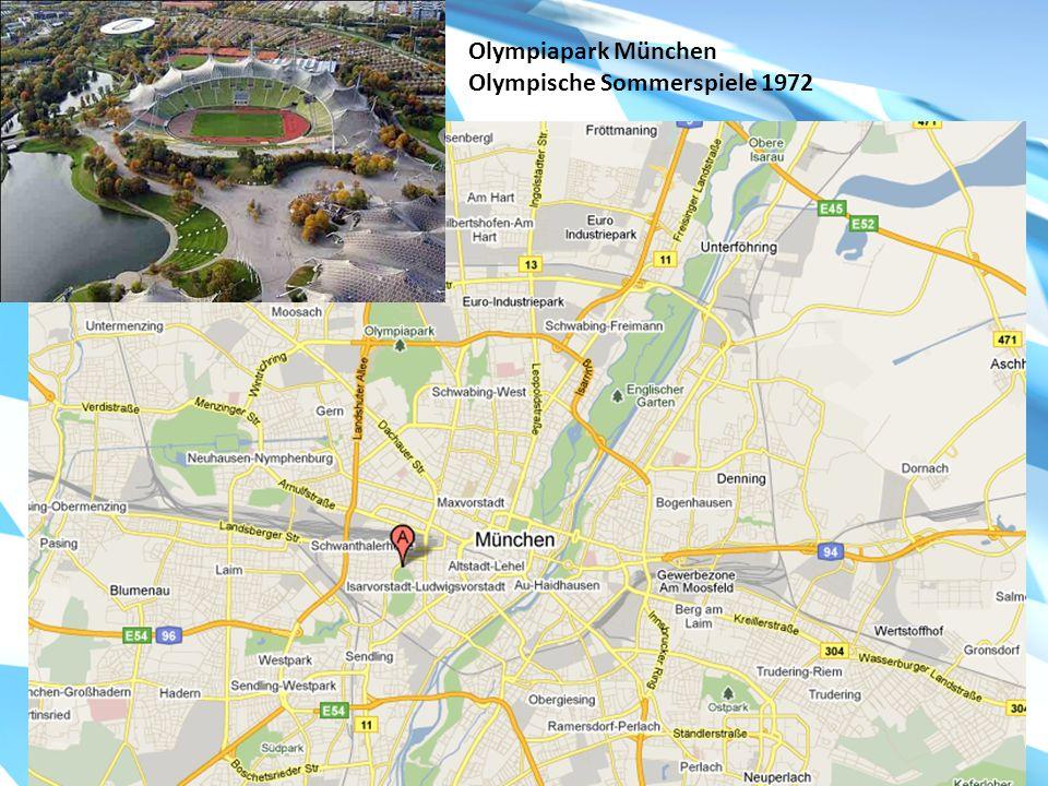 Olympiapark München Olympische Sommerspiele 1972