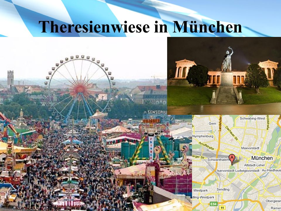 Theresienwiese in München