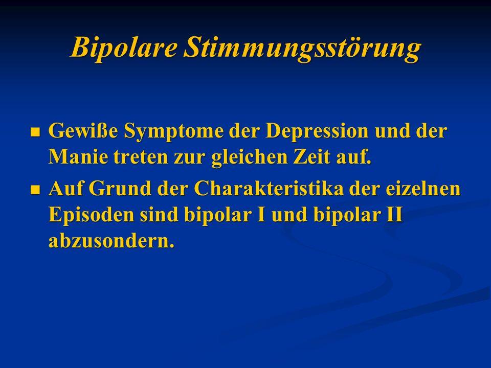 Bipolare Stimmungsstörung