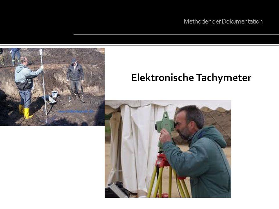 Elektronische Tachymeter