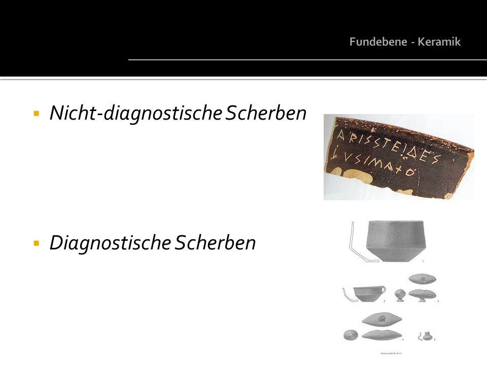 Nicht-diagnostische Scherben