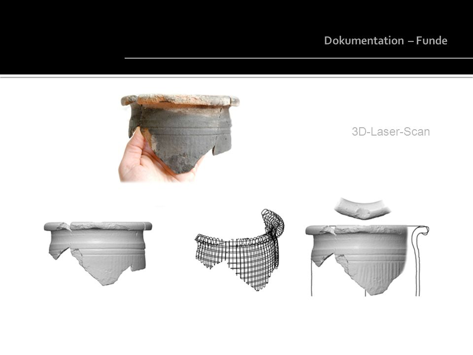 Dokumentation – Funde 3D-Laser-Scan © AS – Archäologie Service