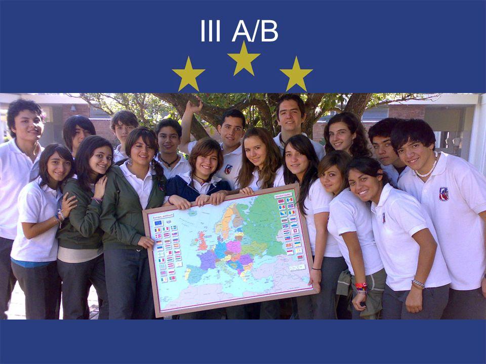 III A/B B. Dávila, Marcela Bolaños, Ana Lucia Cabrera, Haroldo
