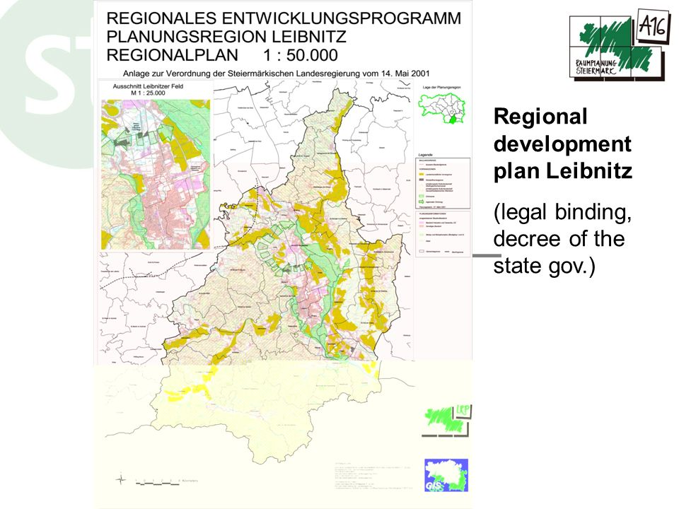 Regional development plan Leibnitz