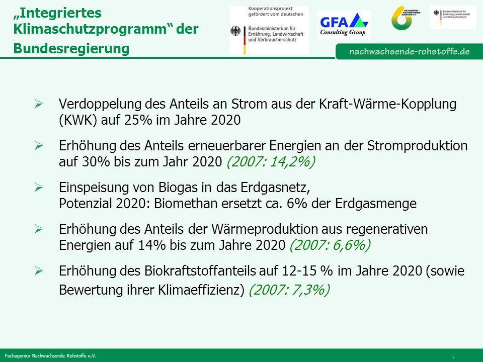 """""""Integriertes Klimaschutzprogramm der Bundesregierung"""