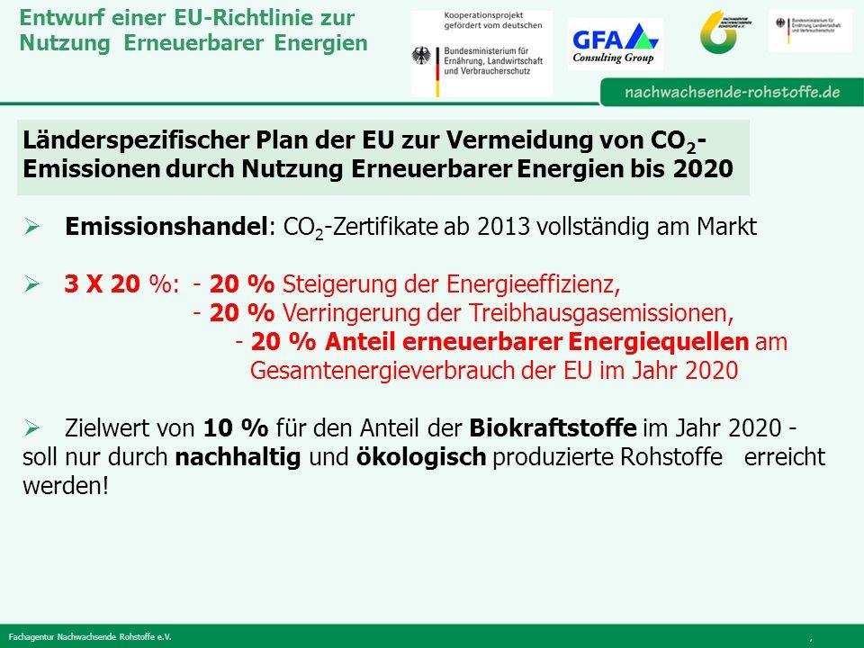 Emissionshandel: CO2-Zertifikate ab 2013 vollständig am Markt