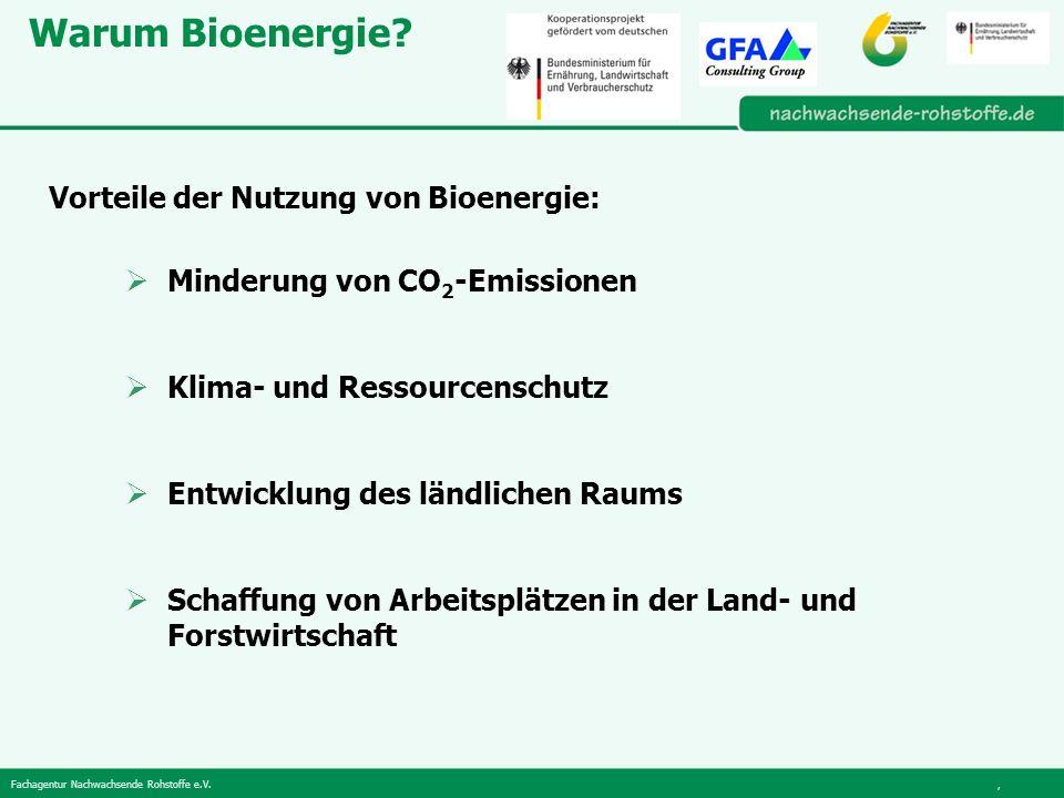 Warum Bioenergie Vorteile der Nutzung von Bioenergie: