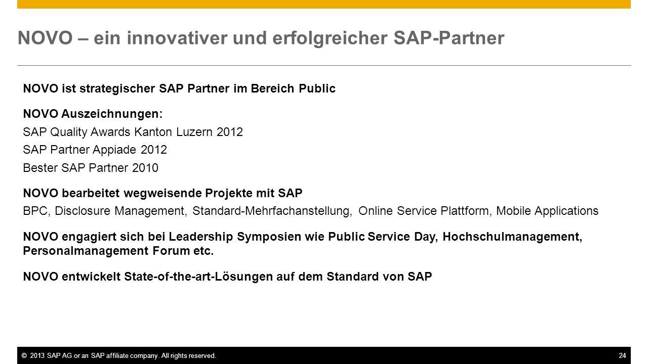 NOVO – ein innovativer und erfolgreicher SAP-Partner