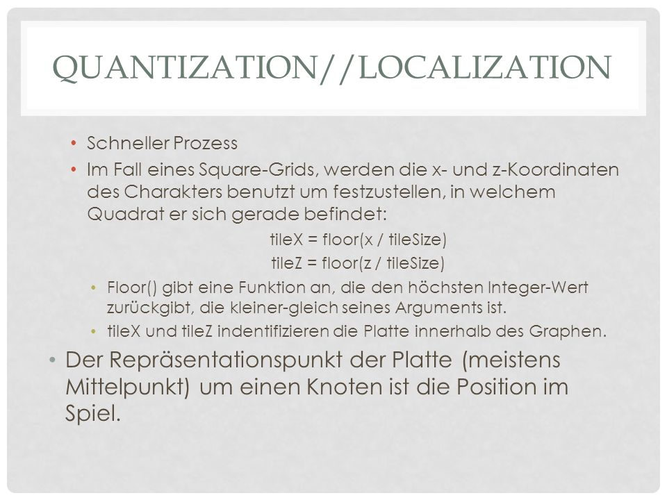 Quantization//Localization
