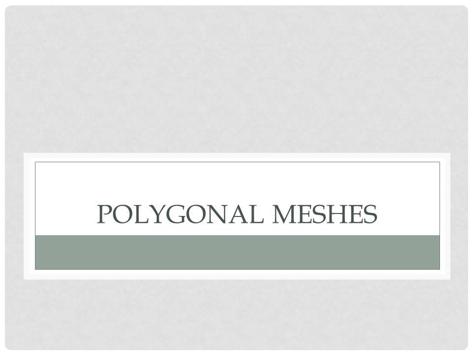Polygonal Meshes