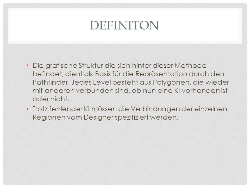 Definiton