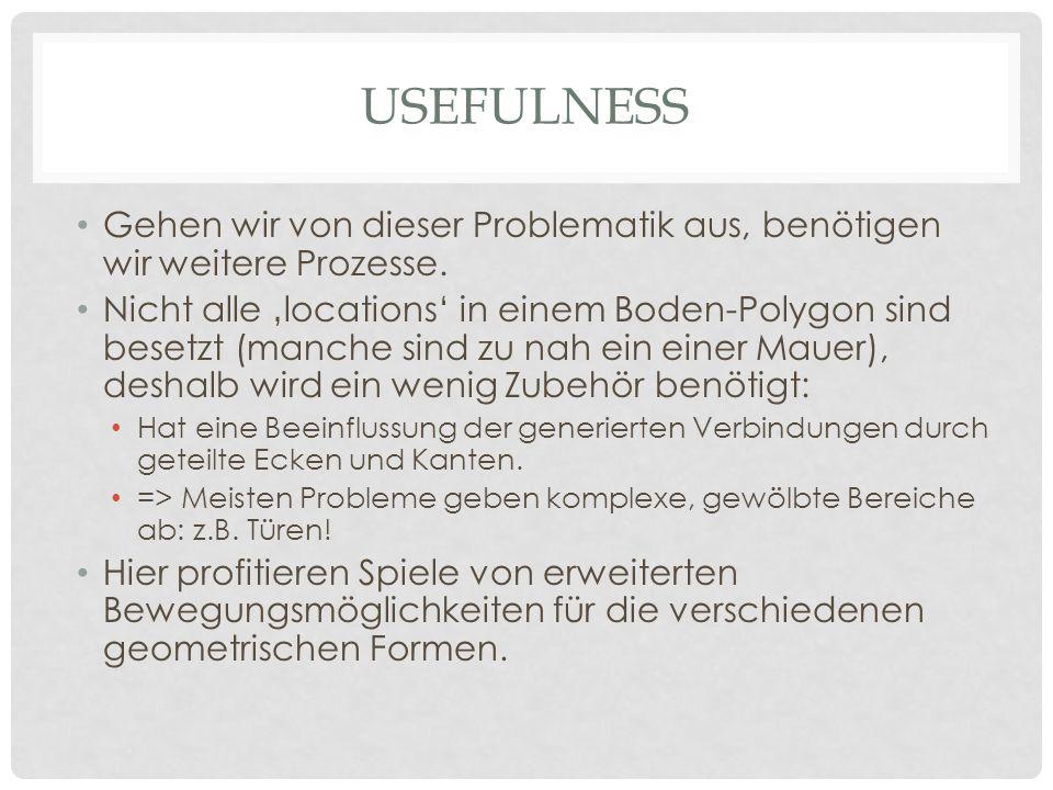 usefulness Gehen wir von dieser Problematik aus, benötigen wir weitere Prozesse.