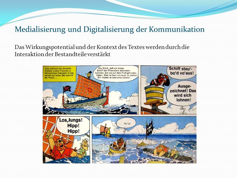 Medialisierung und Digitalisierung der Kommunikation
