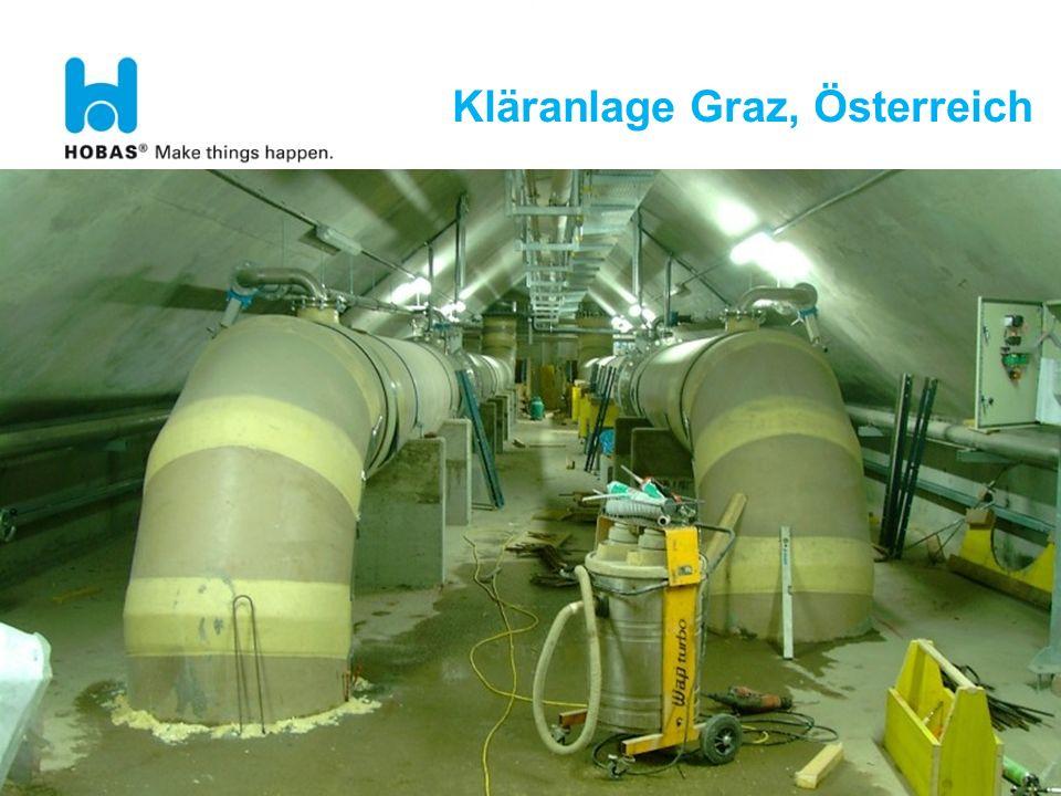 Kläranlage Graz, Österreich