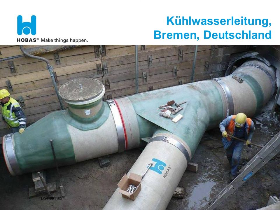Kühlwasserleitung, Bremen, Deutschland
