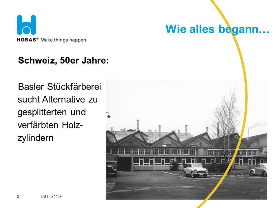 Wie alles begann… Schweiz, 50er Jahre:
