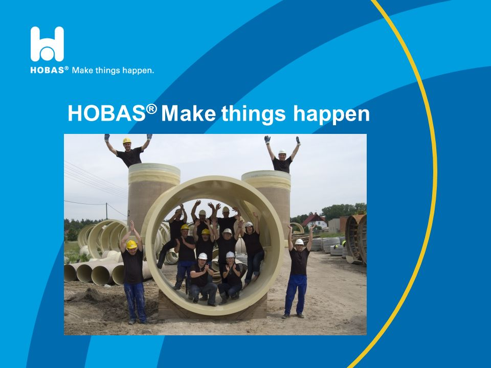 HOBAS® Make things happen