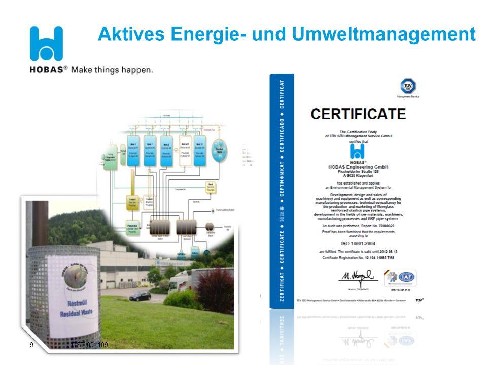Aktives Energie- und Umweltmanagement
