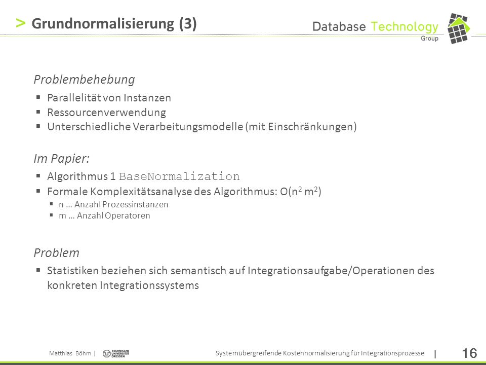 Grundnormalisierung (3)