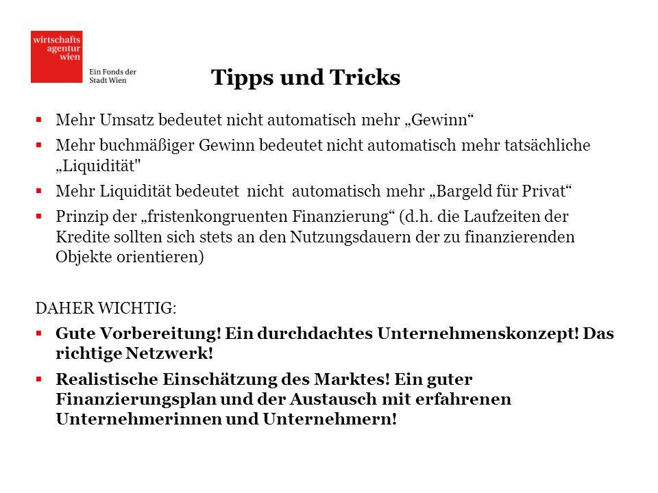 """Tipps und Tricks Mehr Umsatz bedeutet nicht automatisch mehr """"Gewinn"""