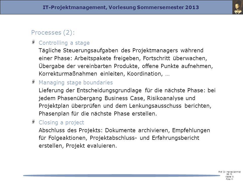 Processes (2):