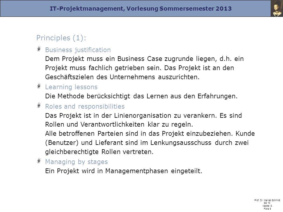 Principles (1):