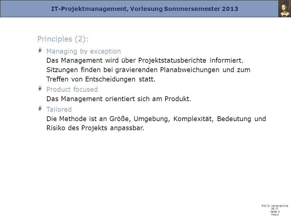 Principles (2):