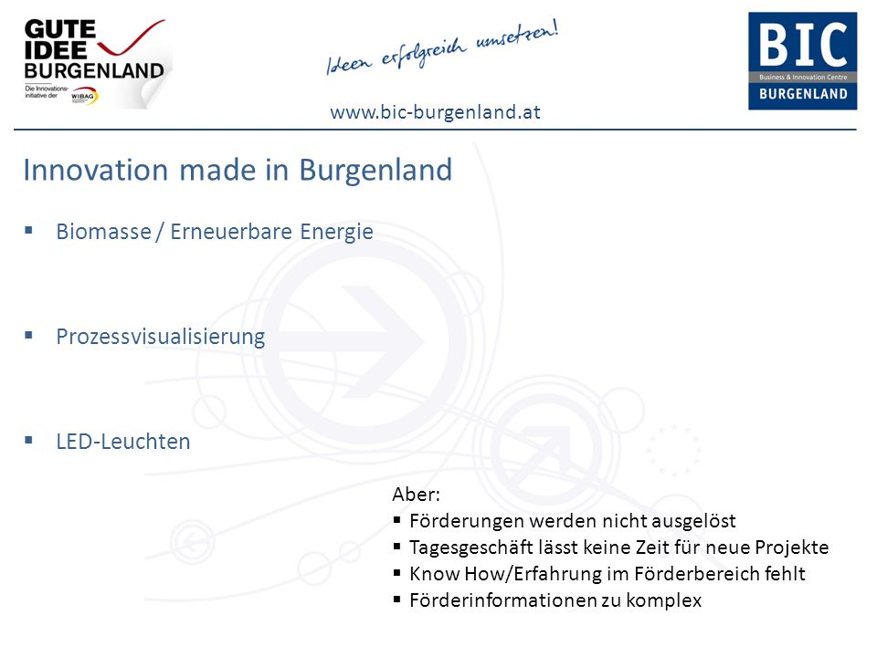 Innovation made in Burgenland