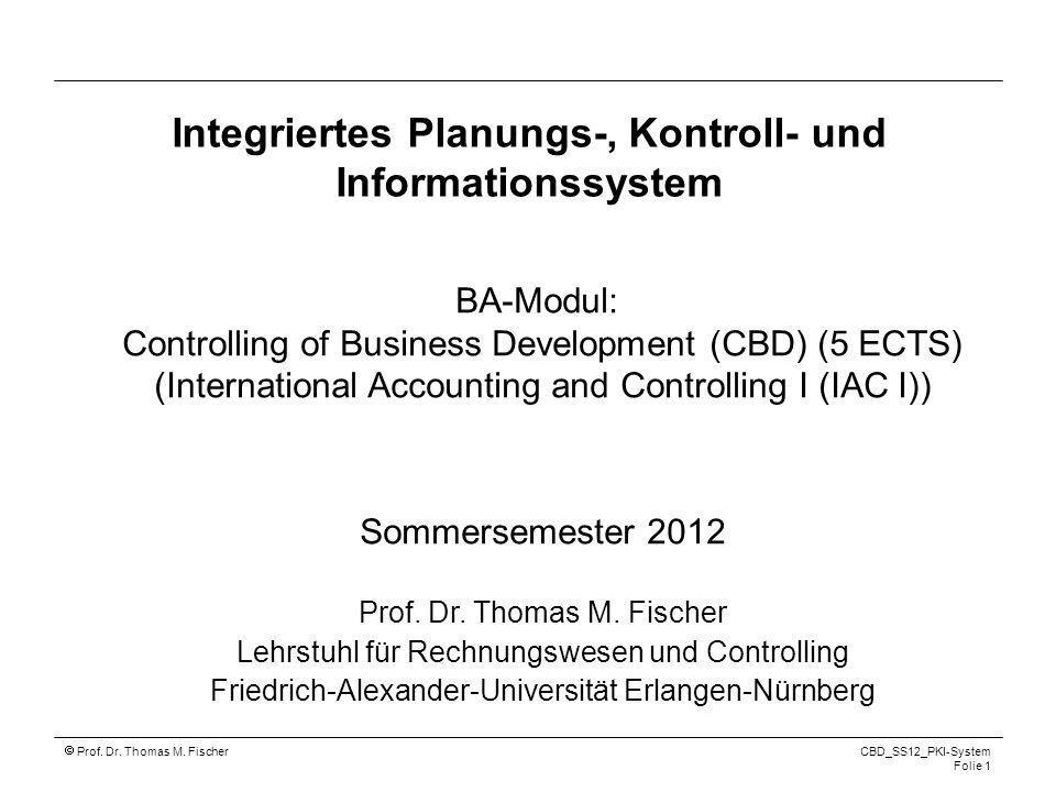 Integriertes Planungs-, Kontroll- und Informationssystem