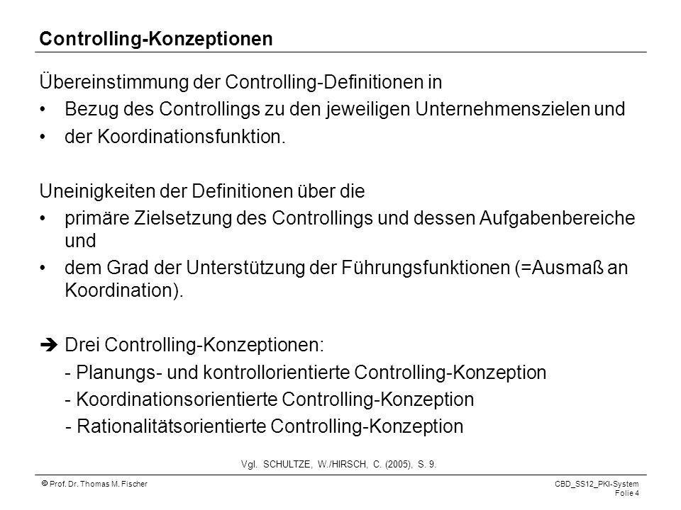 Controlling-Konzeptionen
