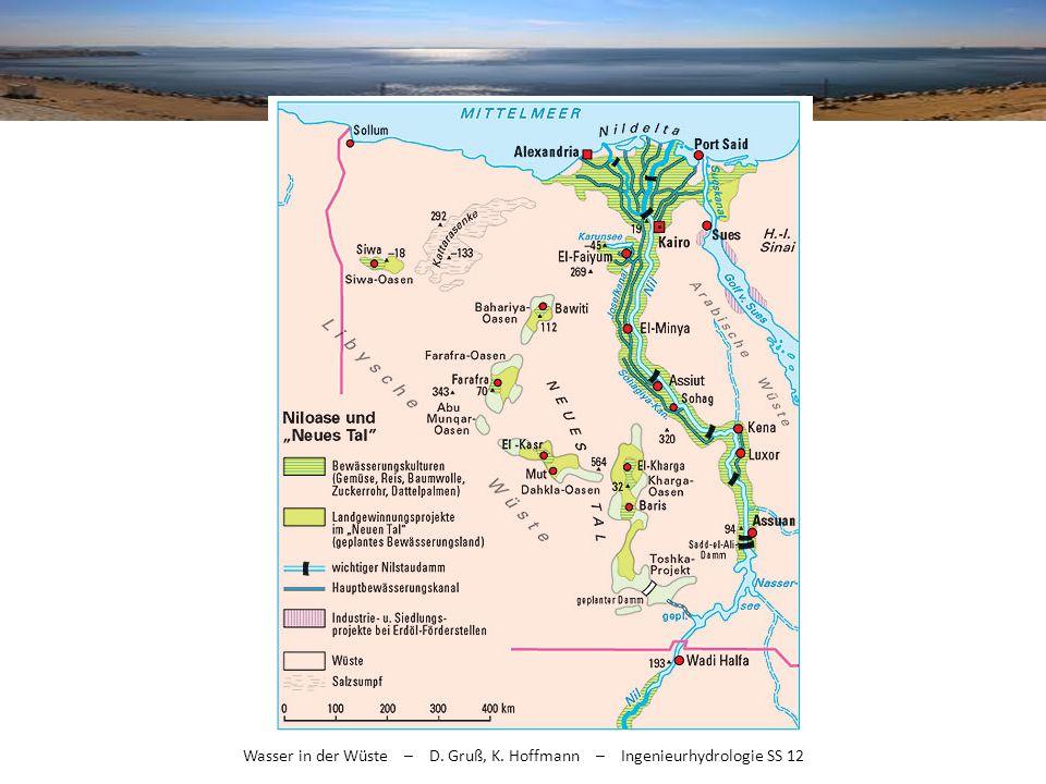 2/3 der Bevölkerung im Nildelta
