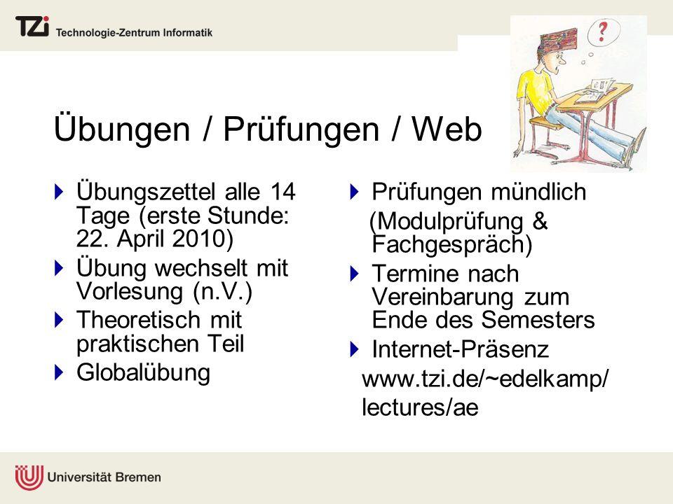 Übungen / Prüfungen / Web