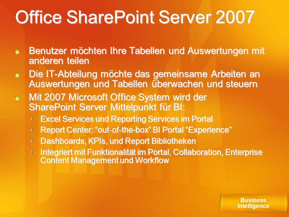 Office SharePoint Server 2007