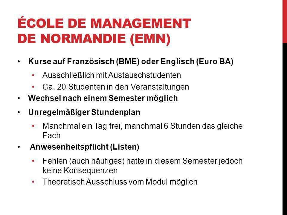 École de Management de Normandie (EMN)