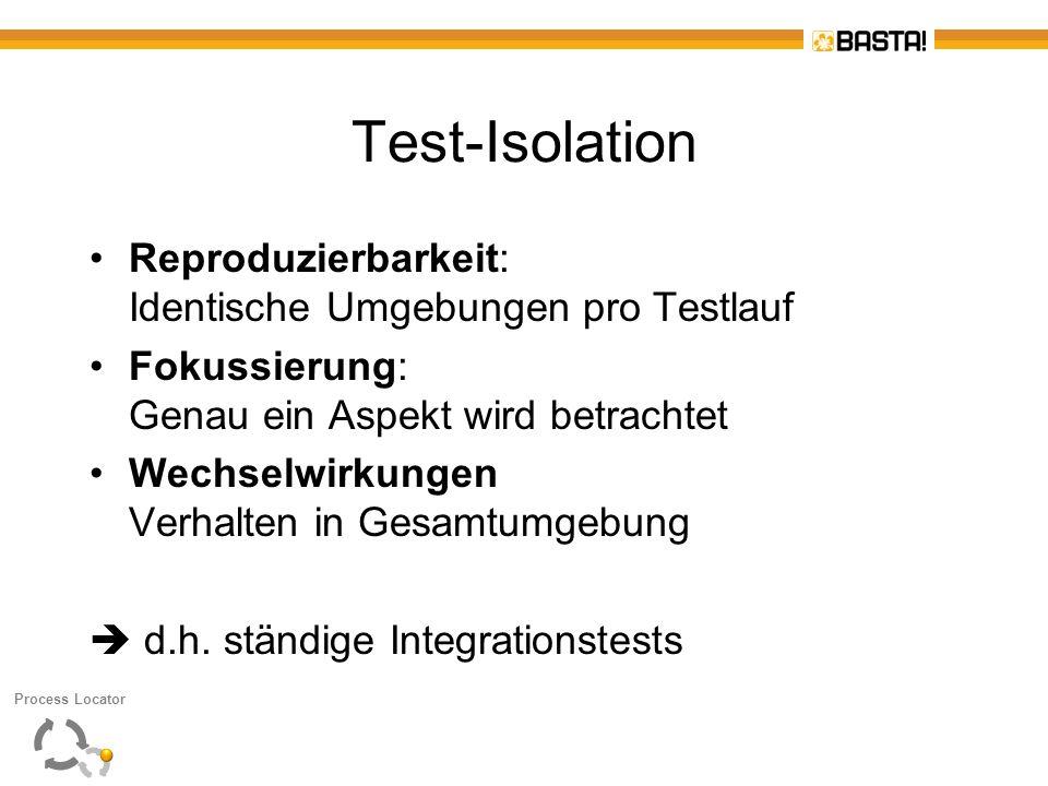 Test-Isolation Reproduzierbarkeit: Identische Umgebungen pro Testlauf