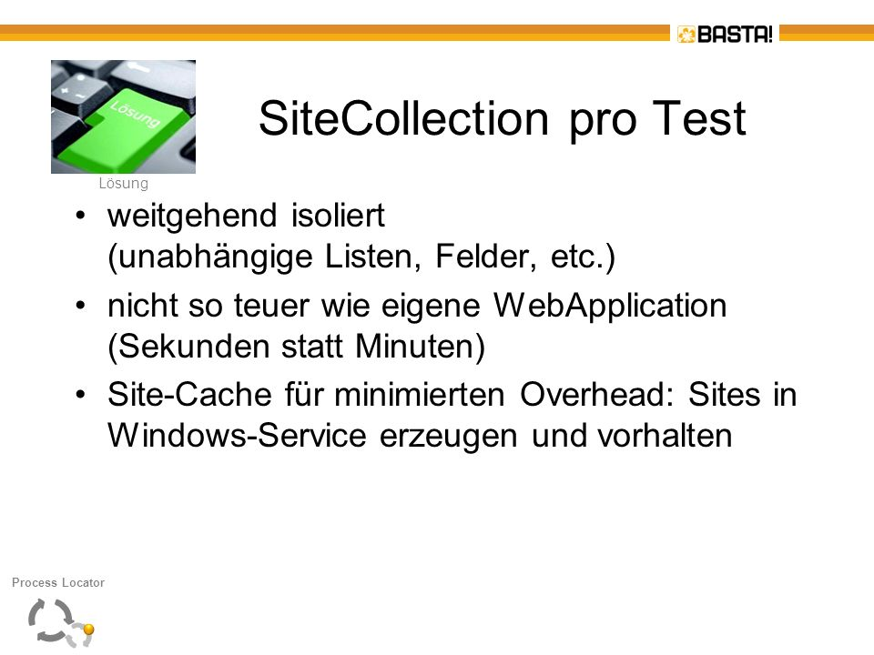 SiteCollection pro Test