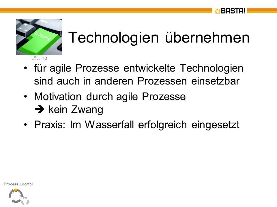 Technologien übernehmen