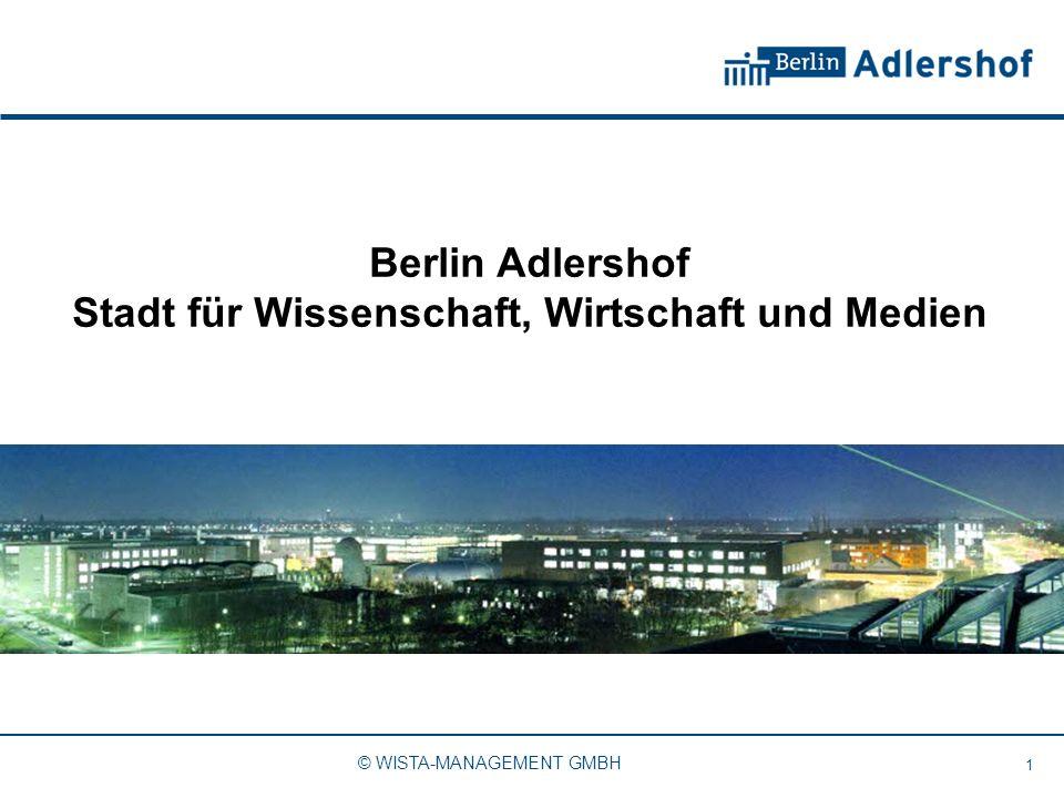 Berlin Adlershof Stadt für Wissenschaft, Wirtschaft und Medien