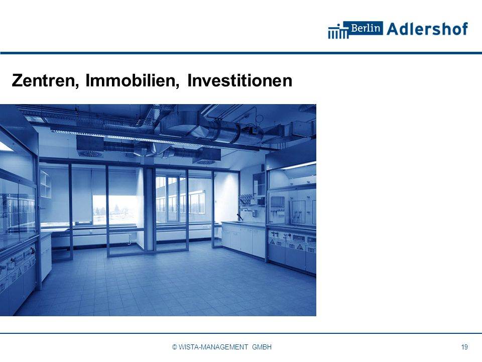 Zentren, Immobilien, Investitionen
