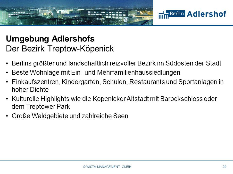 Umgebung Adlershofs Der Bezirk Treptow-Köpenick