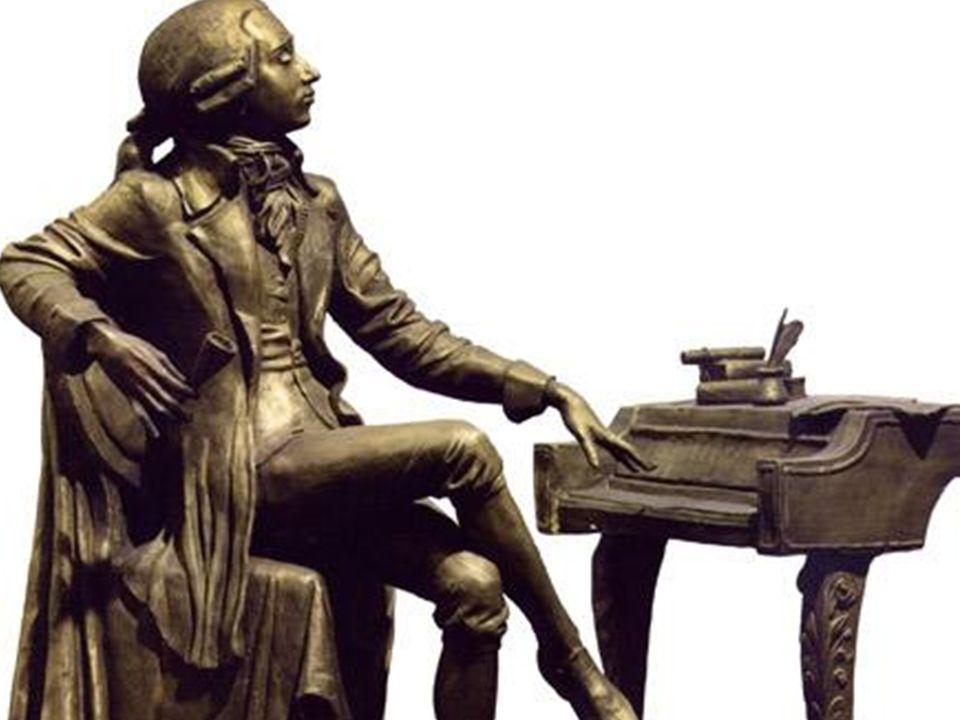 Mozart schuf uber 600 Werke, u. a. 23 Buhnenwerke