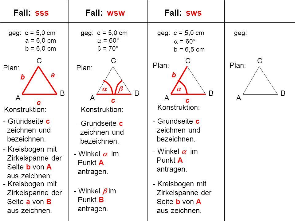 Fall: sss Fall: wsw Fall: sws C C C A B C Plan: Plan: Plan: Plan: a b