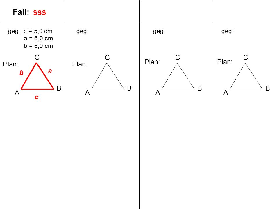 Fall: sss C A B C A B C A B C Plan: Plan: Plan: Plan: a b B A c