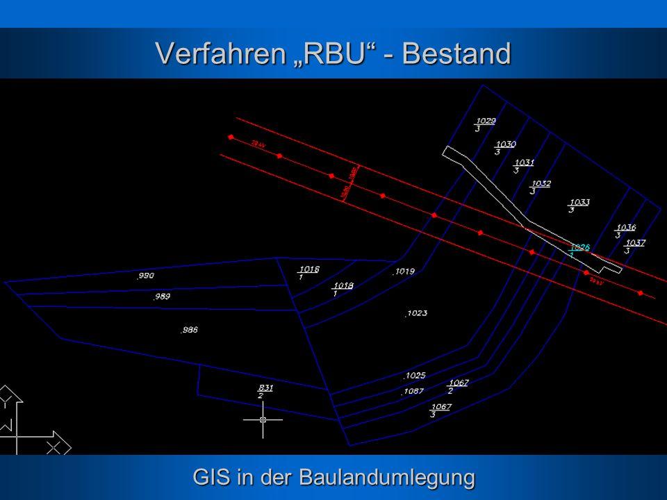 """Verfahren """"RBU - Bestand"""