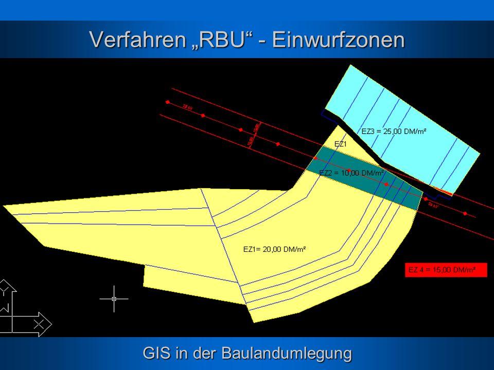 """Verfahren """"RBU - Einwurfzonen"""