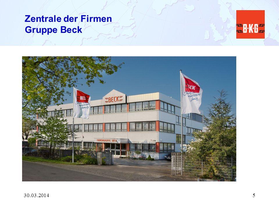 Zentrale der Firmen Gruppe Beck