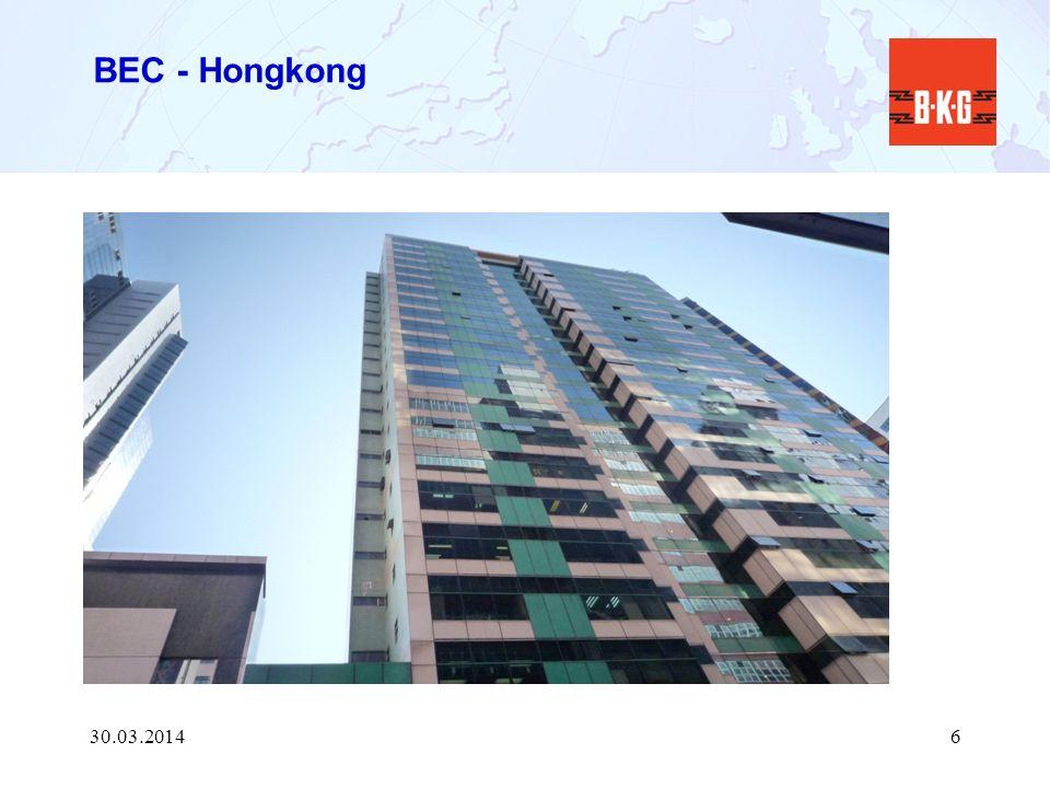 BEC - Hongkong 28.03.2017
