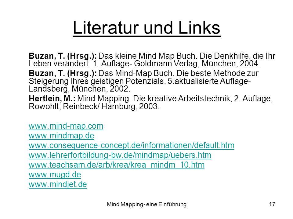 Mind Mapping- eine Einführung