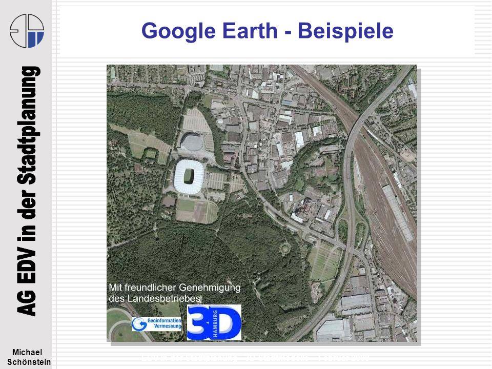 Google Earth - Beispiele